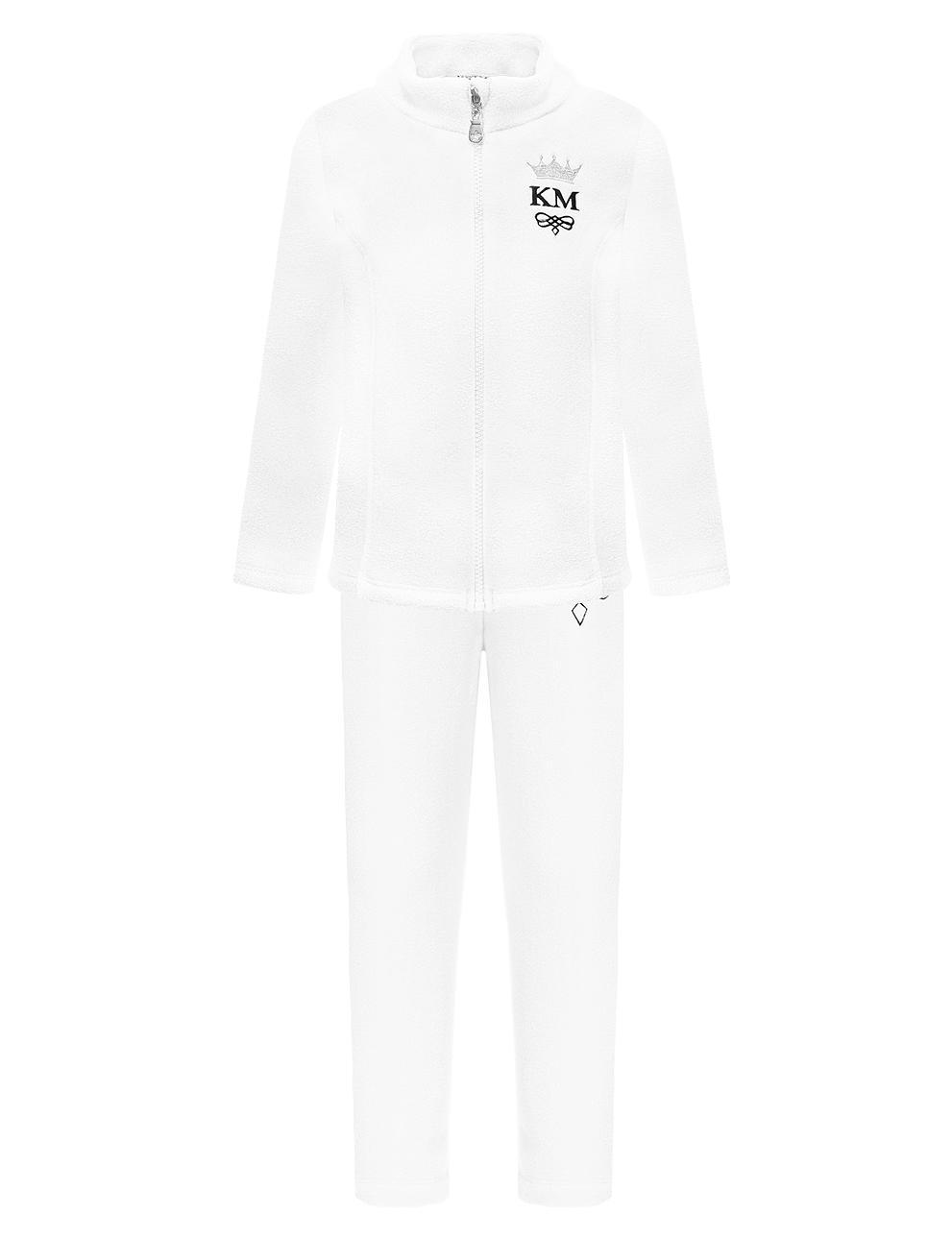 Флисовый костюм детский KETMIN Princess цв.Белый