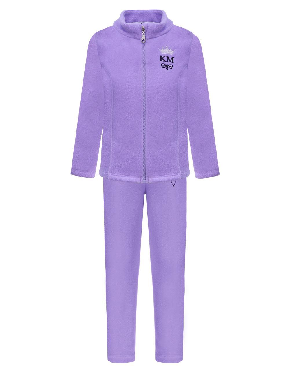 Флисовый костюм детский KETMIN Princess цв.Сиреневый