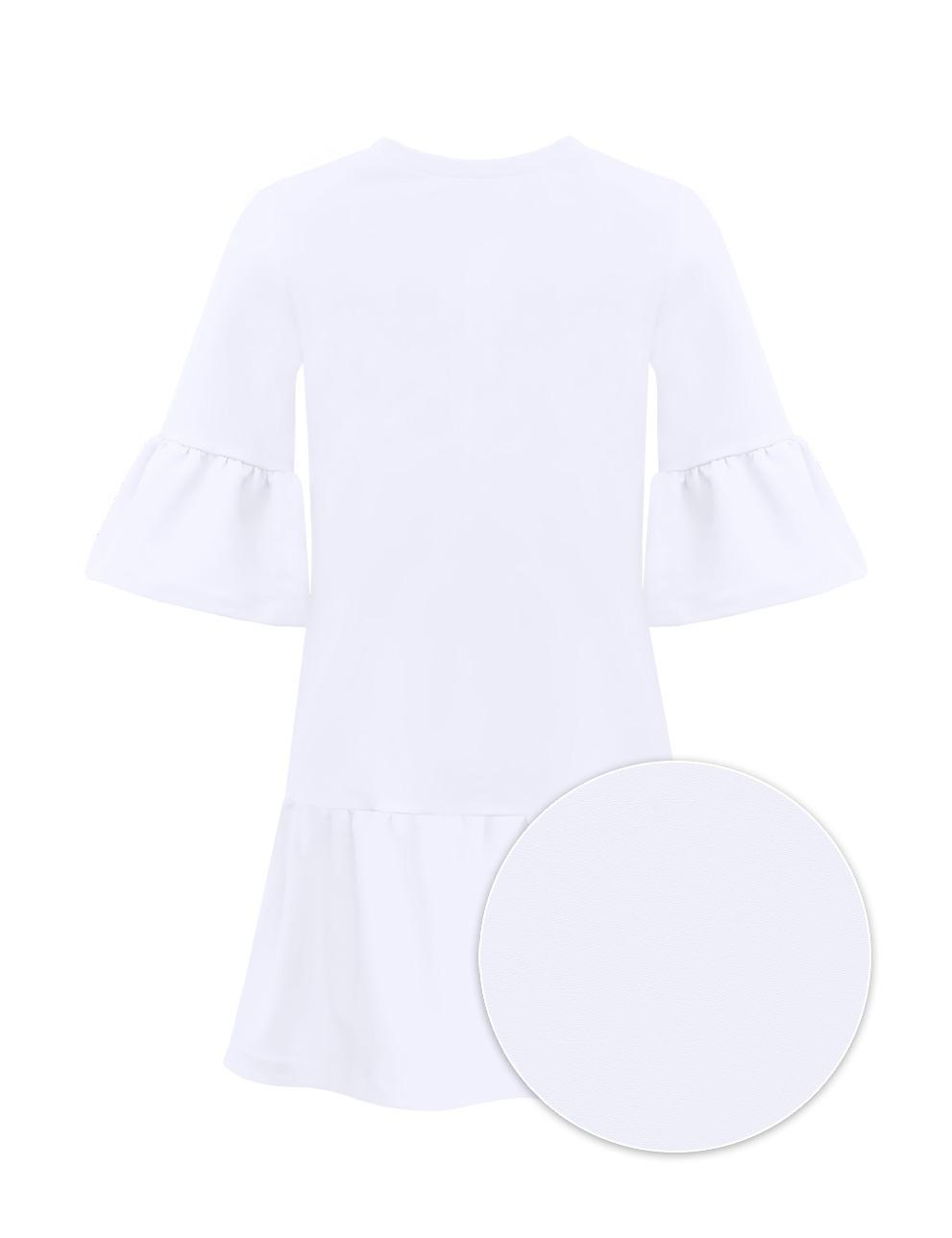 Платье для девочки KETMIN Модница цв.Белый