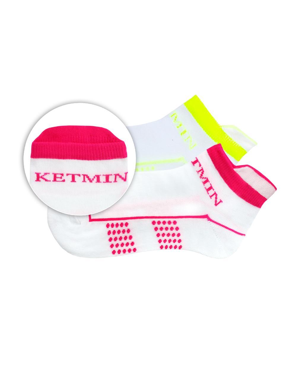 Носки KETMIN Exclusive цв.Белый/Салатовый; Белый/Розовый