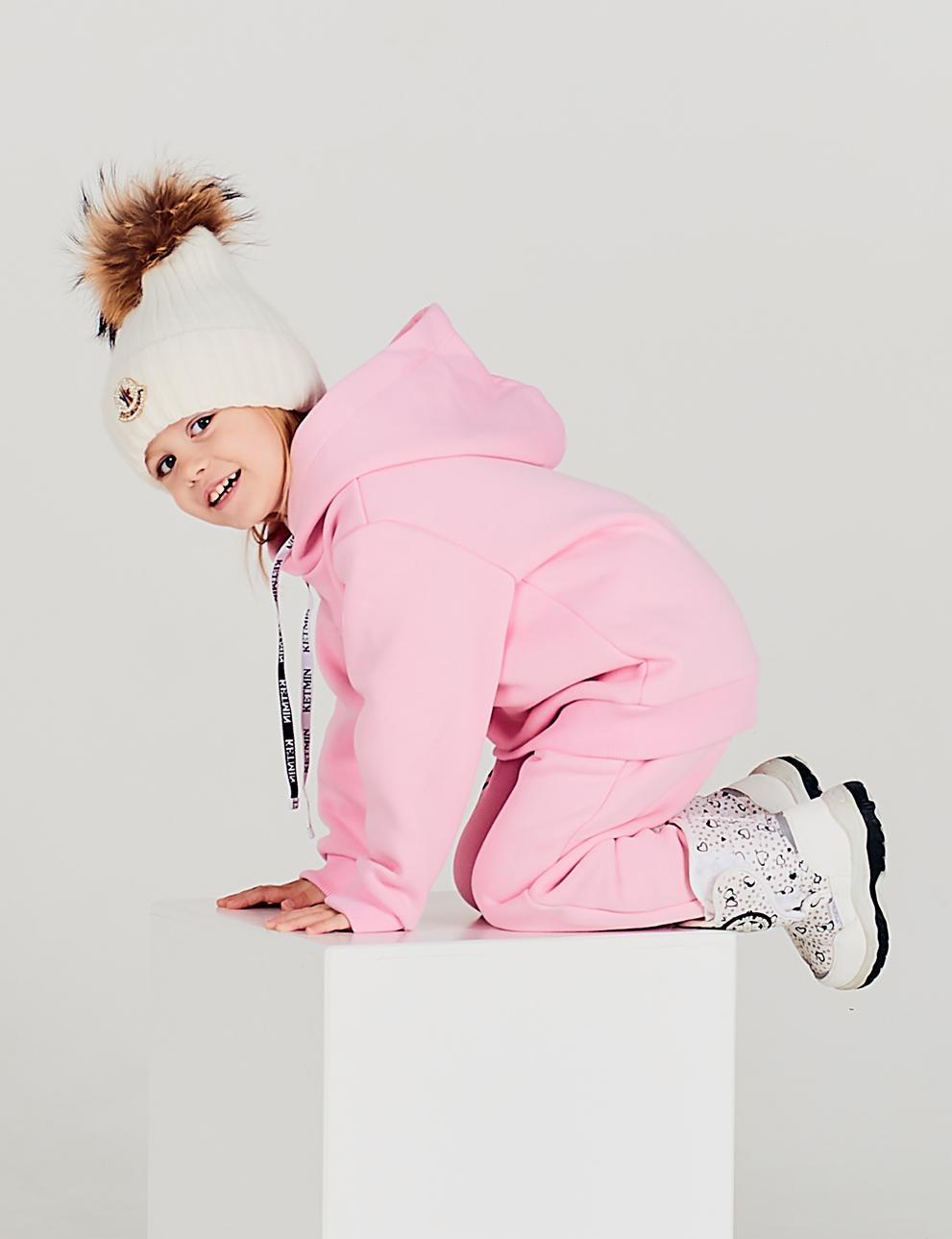Детский спортивный костюм KETMIN с начёсом цв.Нежно-Розовый