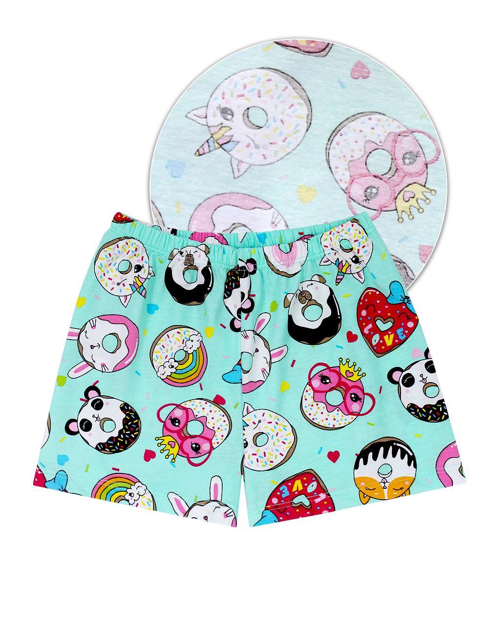 Пижама детская KETMIN Пончики цв.Мята