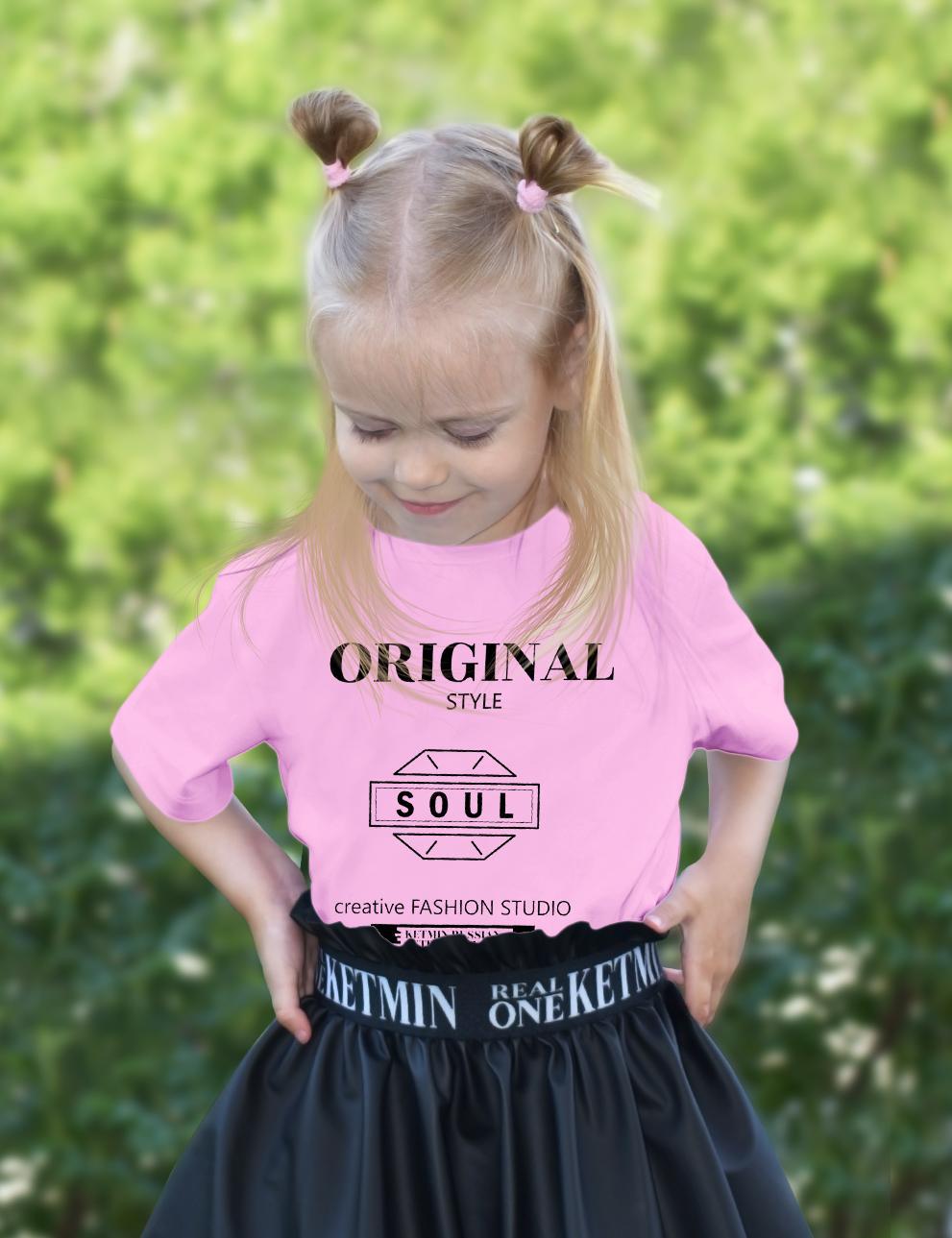 Детская футболка KETMIN Sensation цв.Розовый