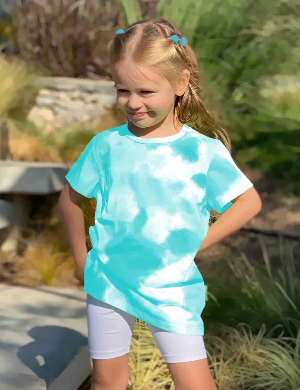 Детская футболка КЕТМИН цв.Тай Дай Бирюза