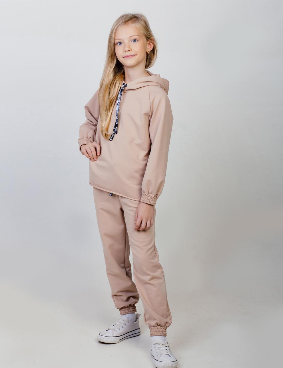 Детский костюм для девочки KETMIN Sport цв.Бежевый