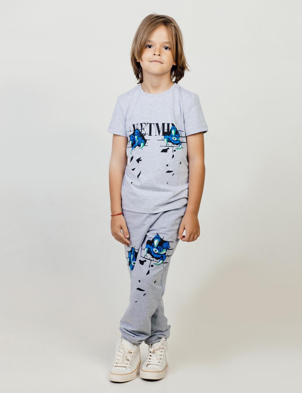 Костюм для мальчика KETMIN Когти цв.Серый