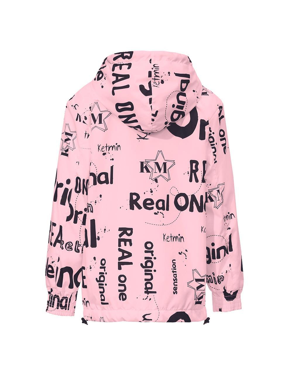 Жакет спортивный подростковый REAL ONE Demi цв.Розовый