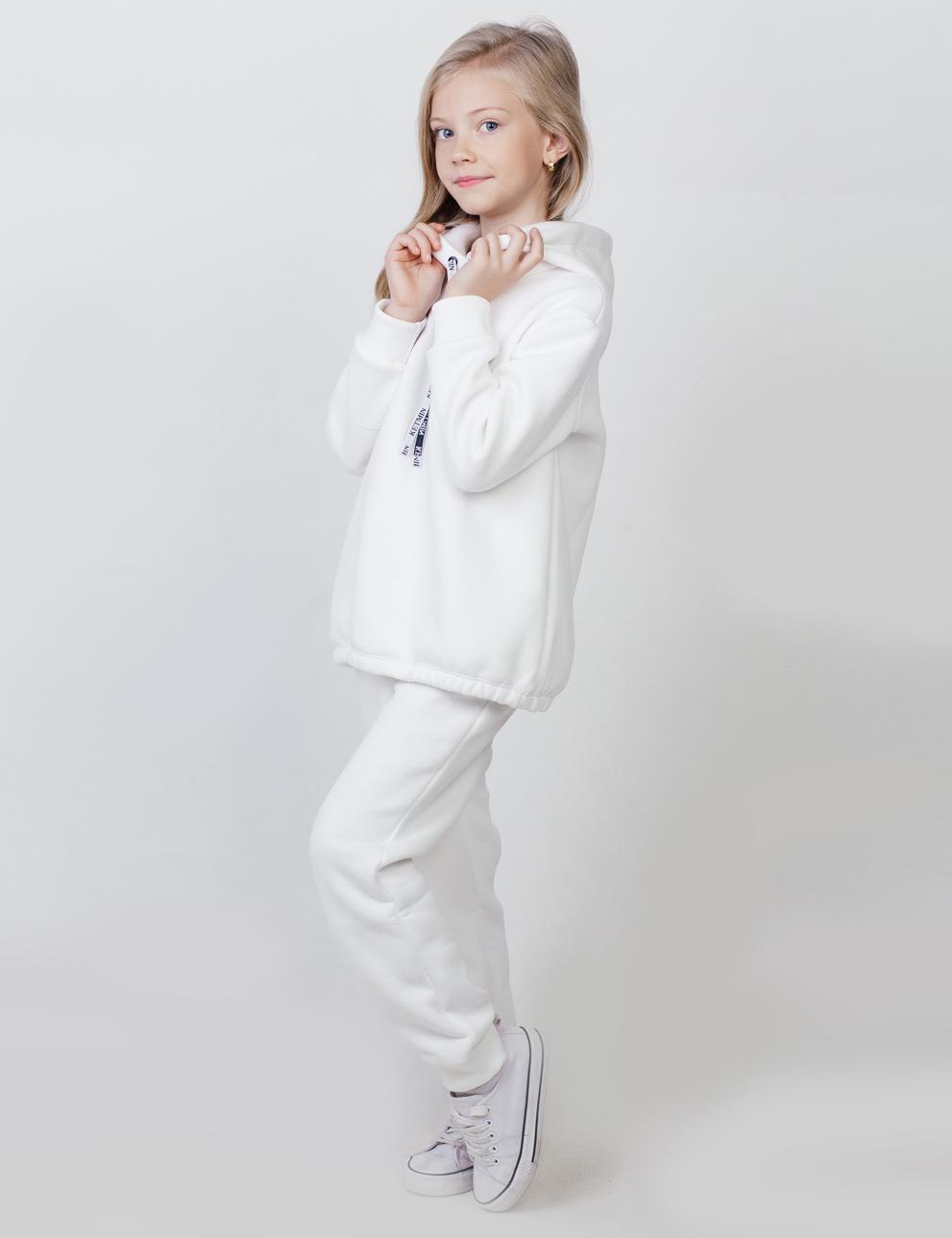 Детский спортивный костюм KETMIN с начёсом цв.Молочный