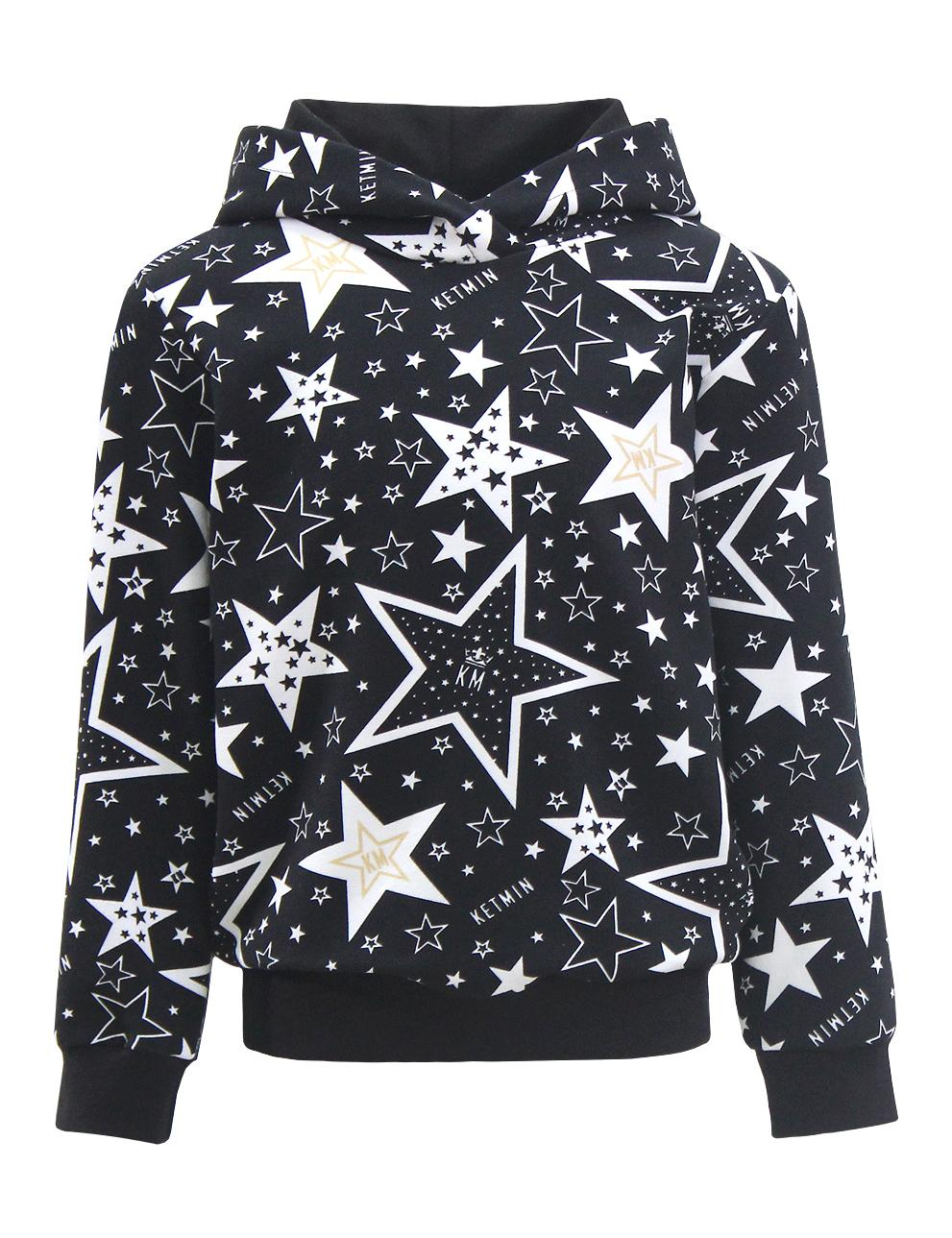 Детское худи с капюшоном KETMIN STAR KM цв.Чёрный