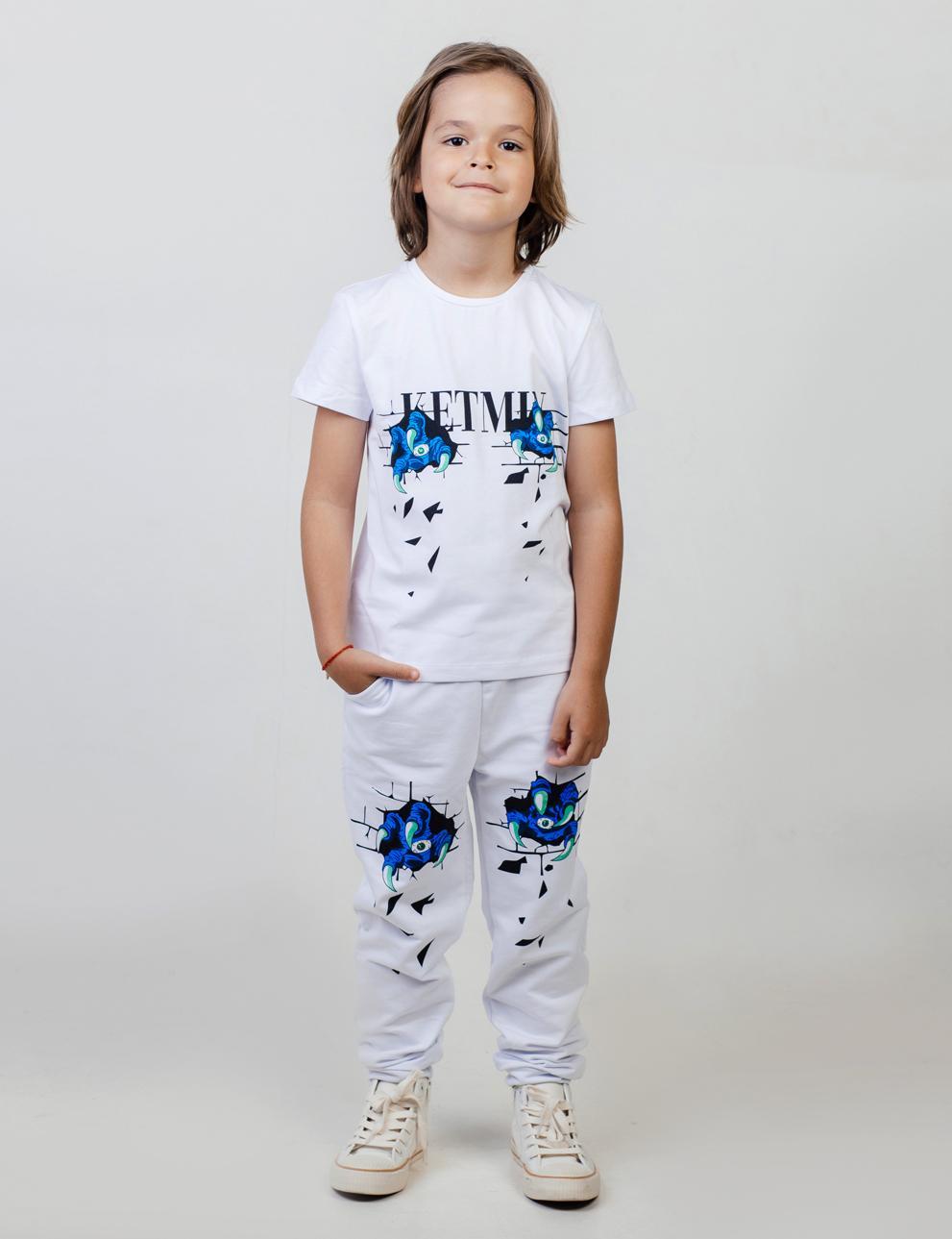 Брюки детские KETMIN Когти цв.Белый