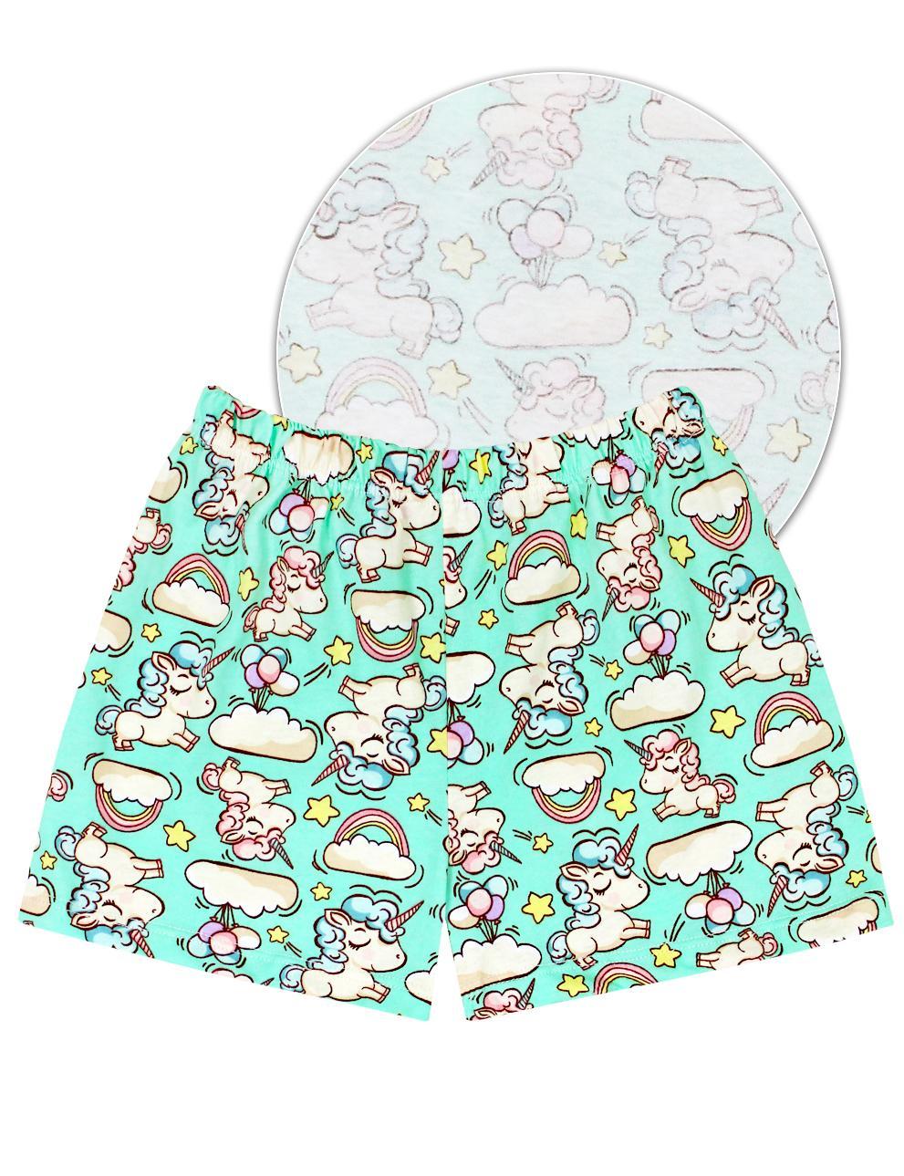 Пижама детская KETMIN Единорожки цв.Бирюза