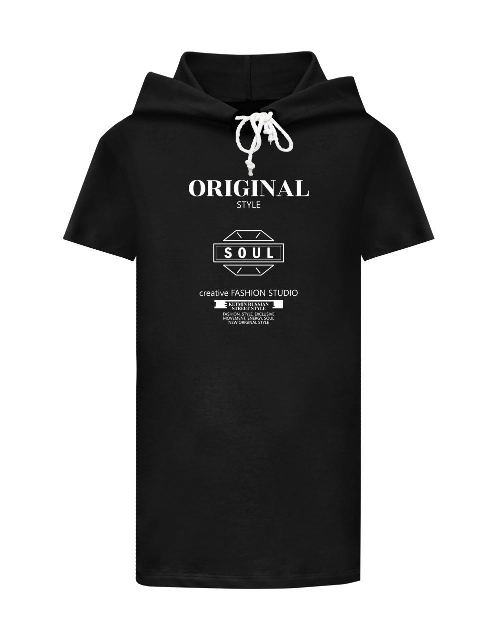 Платье-туника для девочки KETMIN Sensation цв.Чёрный