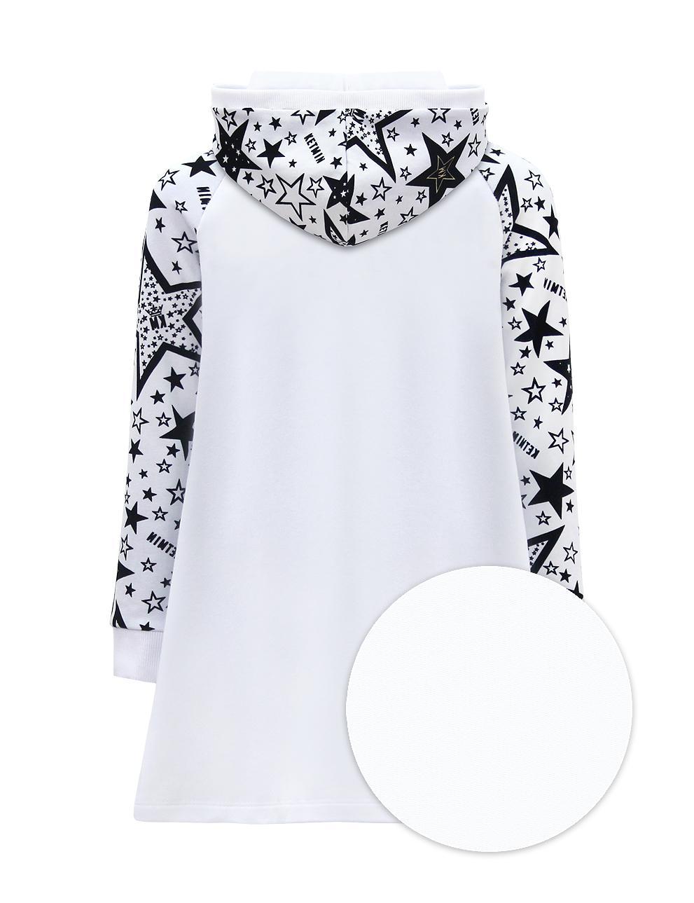 Платье для девочки KETMIN STAR КМ с капюшоном цв.Белый