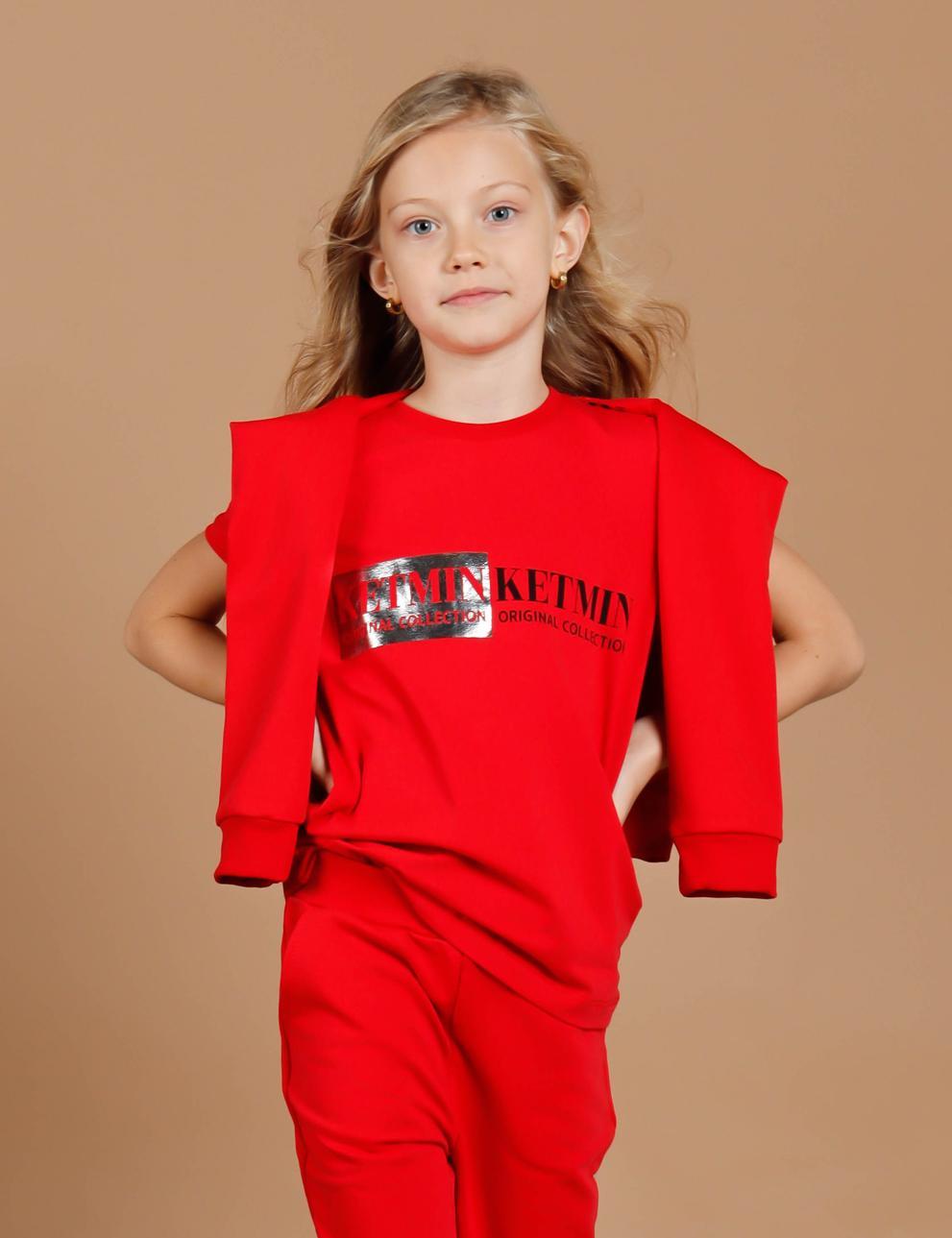 Детская футболка КЕТМИН Original Сollection цв.Рубин