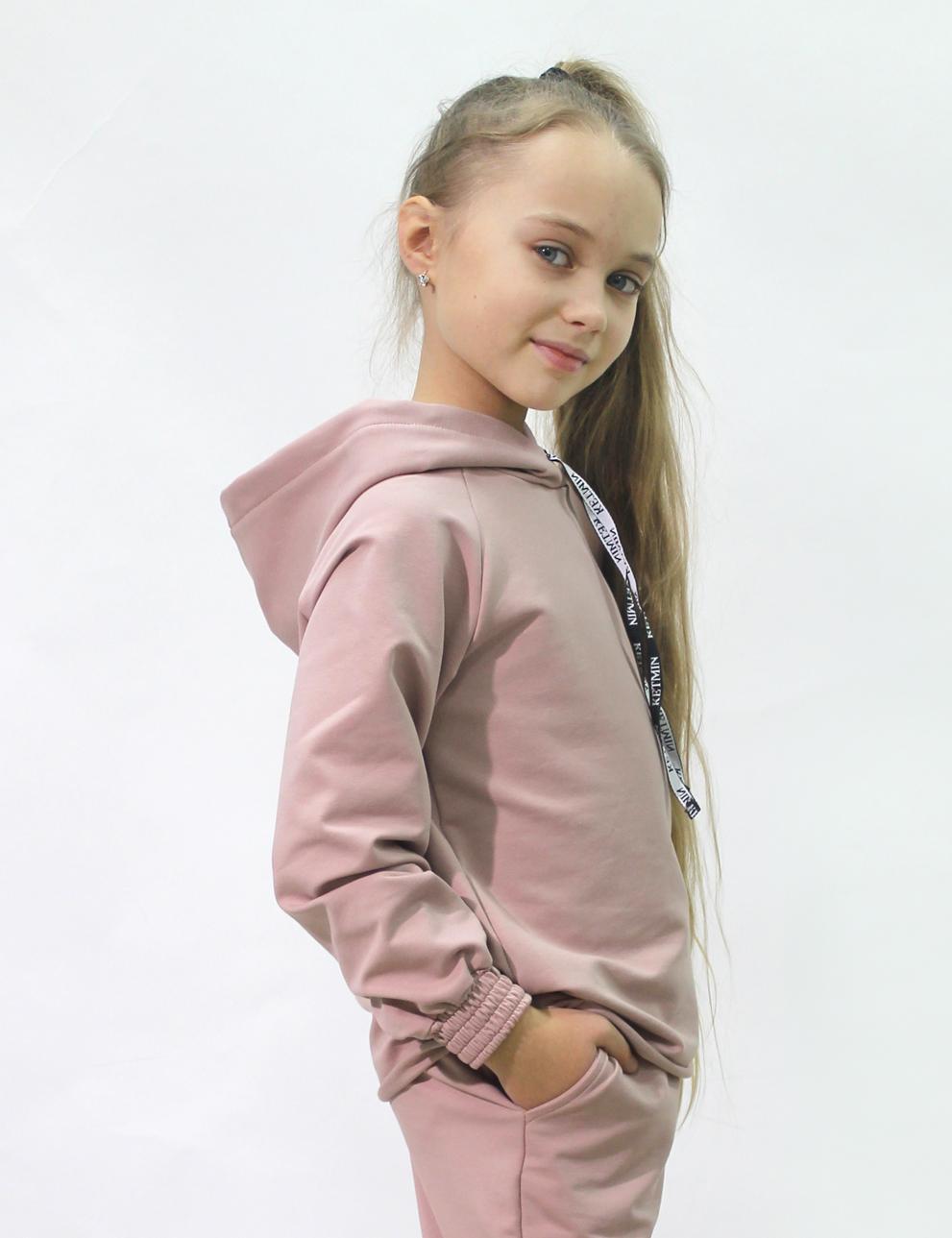 Детский костюм для девочки KETMIN Sport цв.Кофе