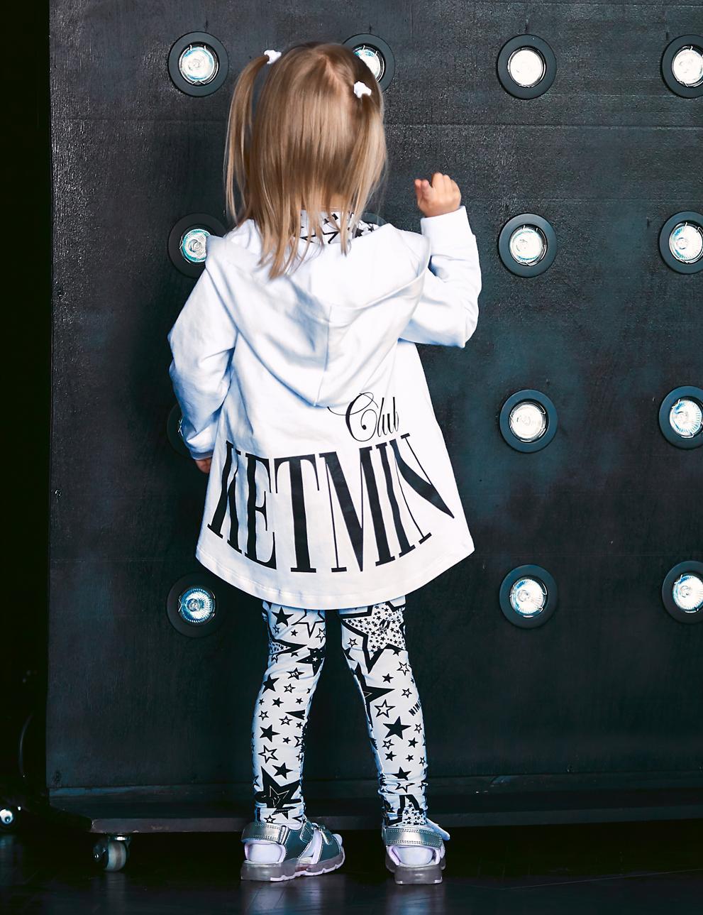 Толстовка детская на молнии KETMIN CLUB цв.Белый