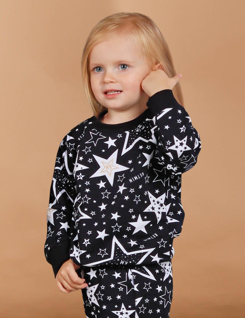 Свитшот детский KETMIN STAR KM цв.Чёрный
