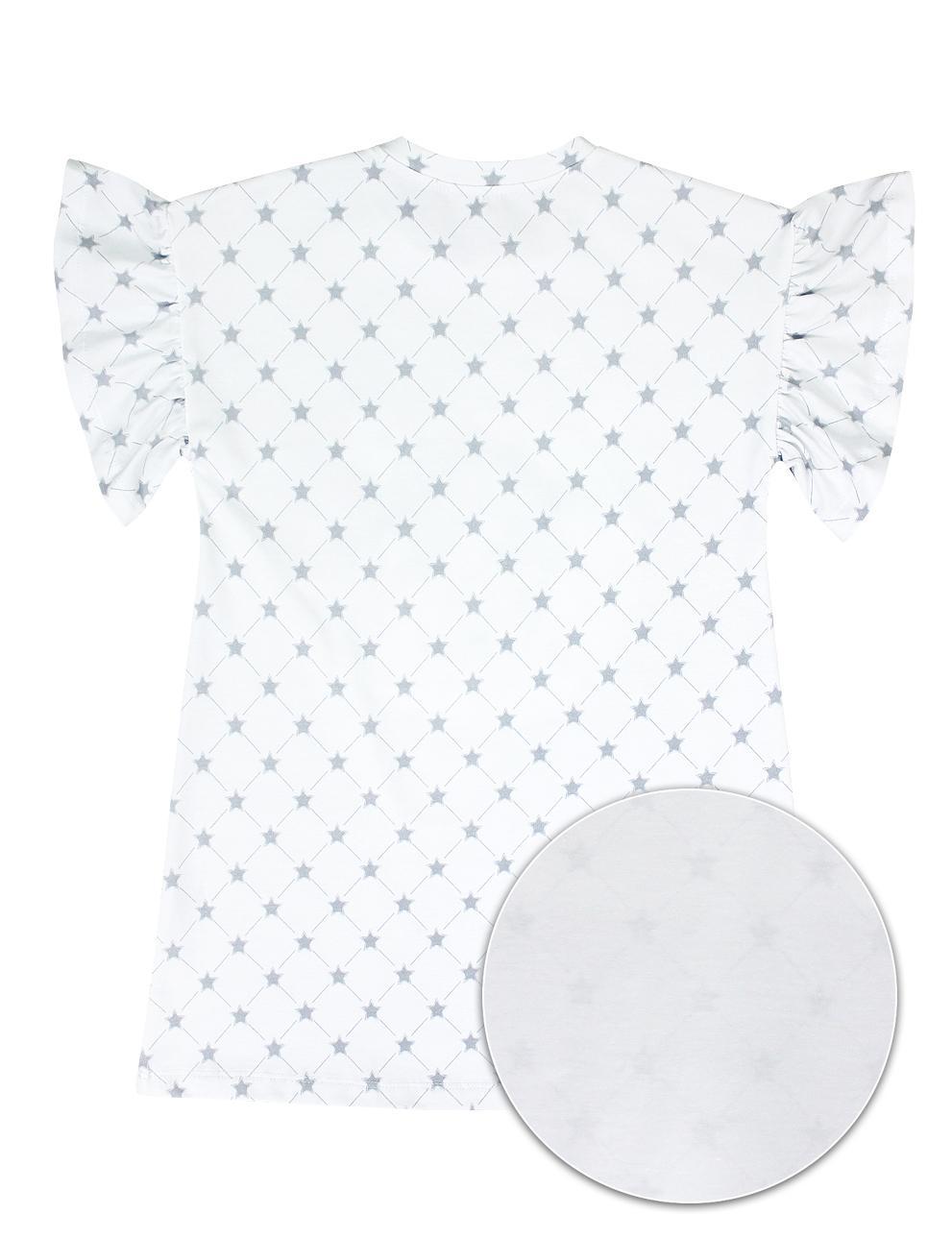 Сорочка детская KETMIN Облачко цв.Белый со звёздами