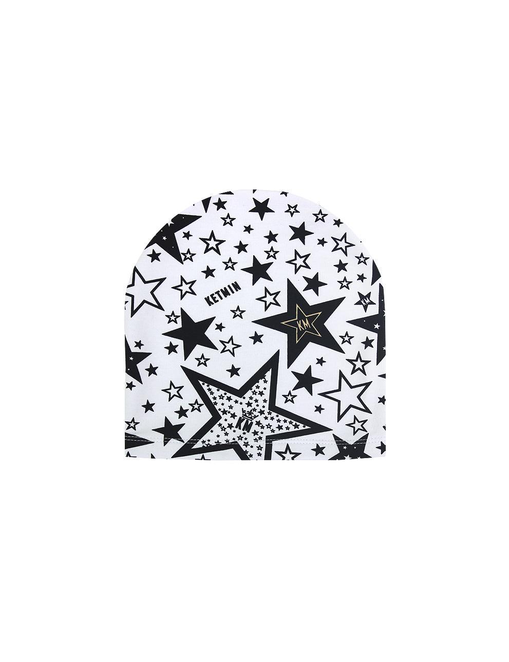 Шапка KETMIN STAR KM тк.Футер цв.Белый
