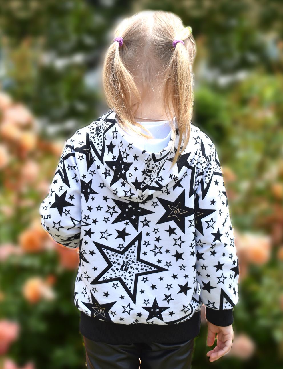 Детское худи с капюшоном KETMIN STAR KM цв.Белый