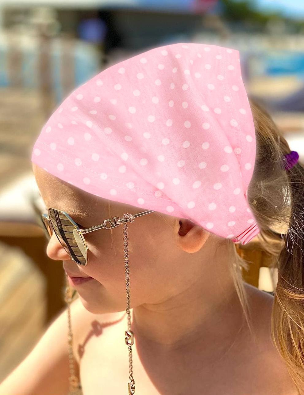 Бандана детская KETMIN цв.Розовый горох