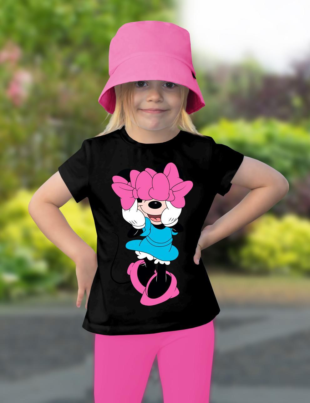 Детская футболка для девочки KETMIN Favorit Person цв.Чёрный