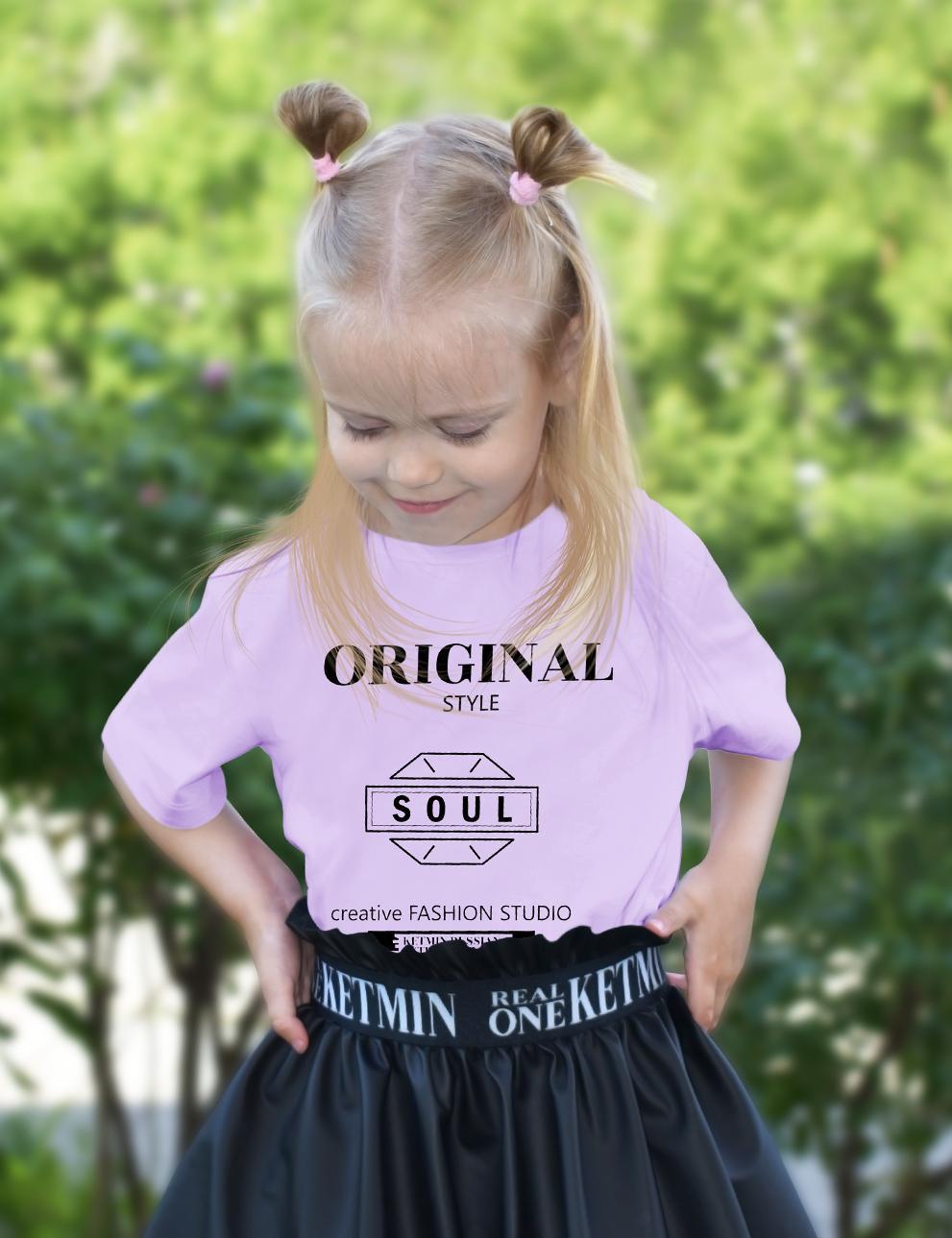Детская футболка KETMIN Sensation цв.Сиреневый