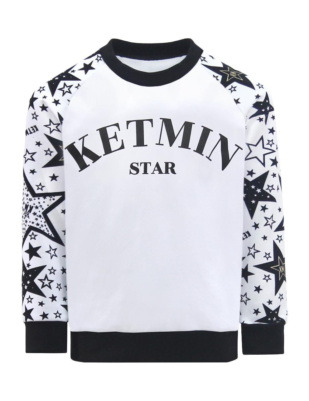 Свитшот детский KETMIN STAR реглан цв.Белый