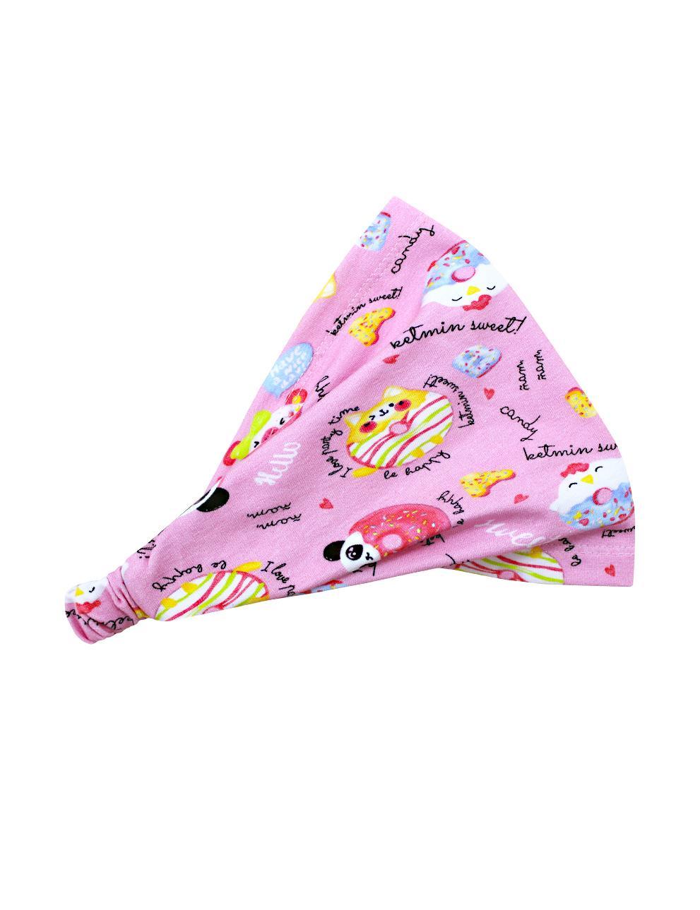 Бандана детская KETMIN Пончики цв.Розовый
