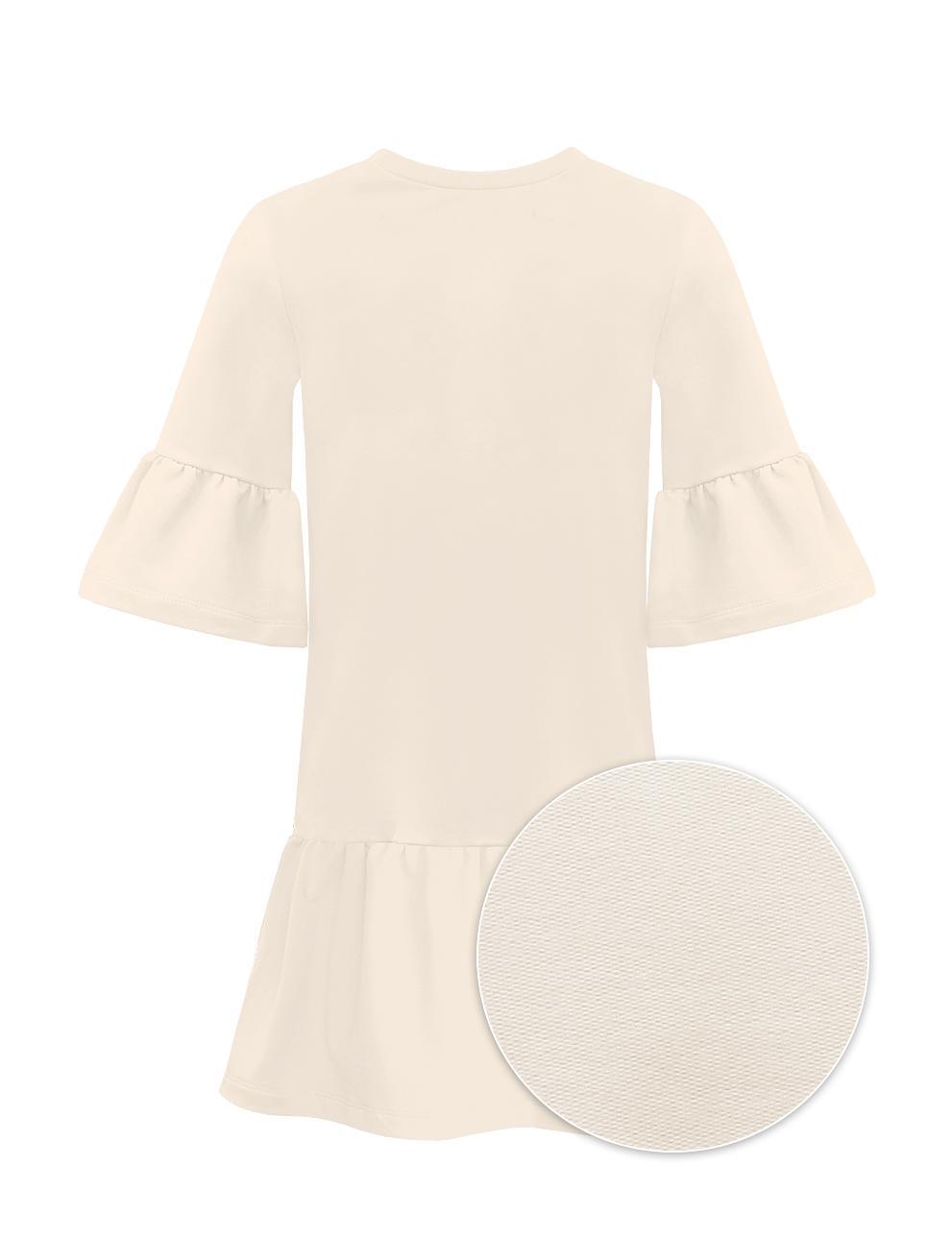 Платье для девочки KETMIN Модница цв.Бежевый