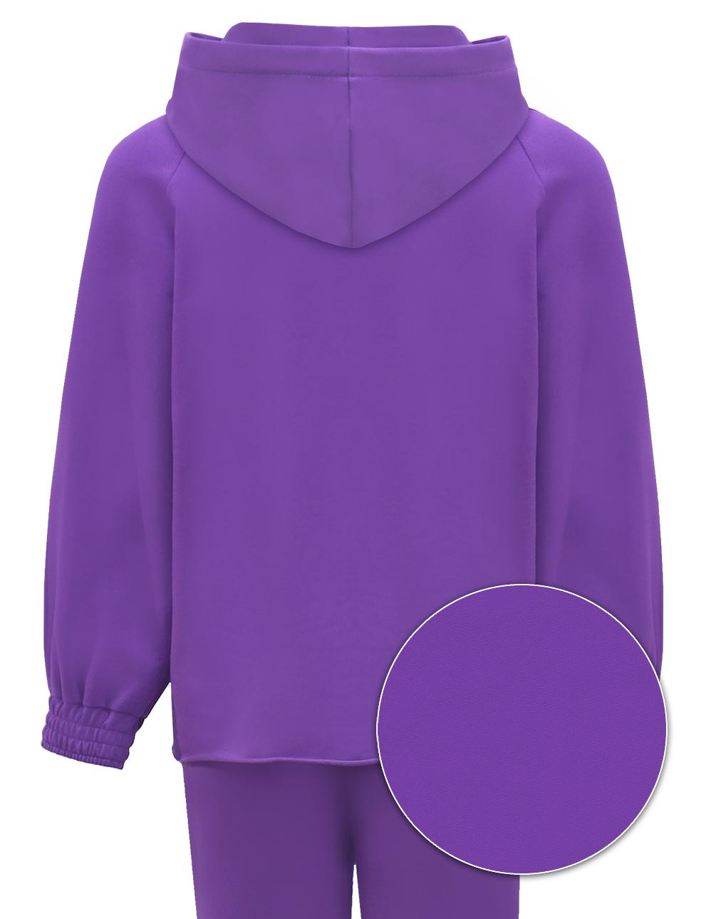 Детский костюм для девочки KETMIN Sport цв.Фиолетовый
