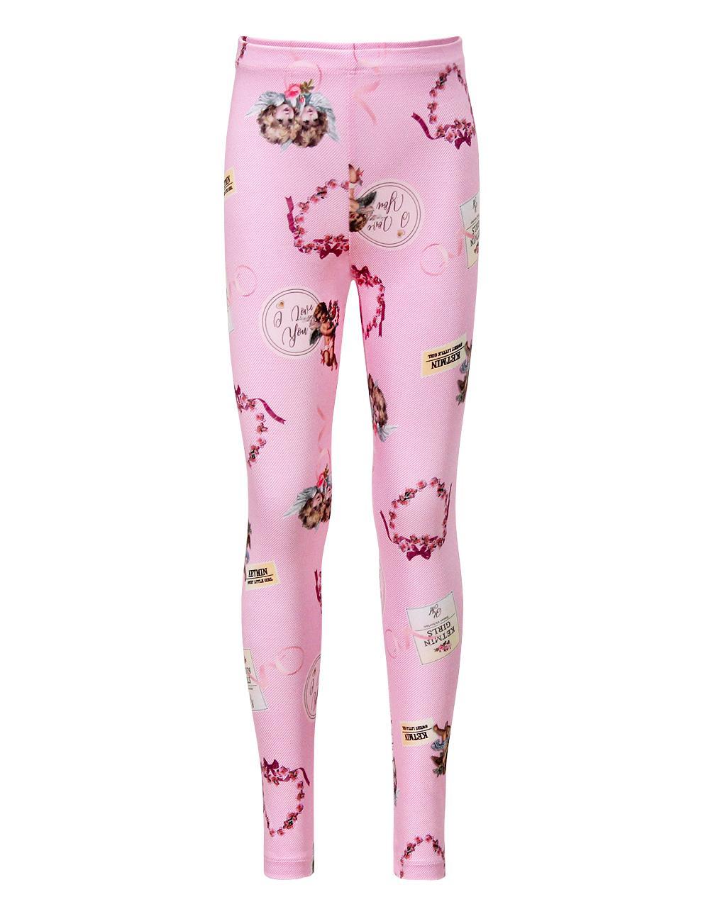 Легинсы детские KETMIN Angel цв.Розовый