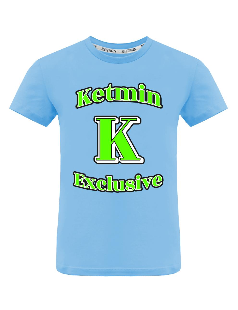 Детская футболка KETMIN Exclusive цв.Голубой