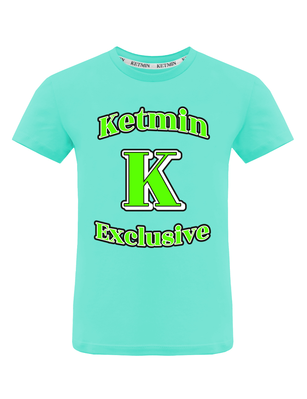 Детская футболка KETMIN Exclusive цв.Мятный