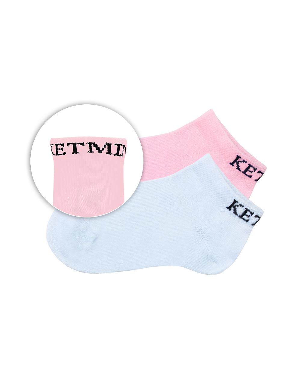 Носки KETMIN Exclusive цв.Белый/Розовый