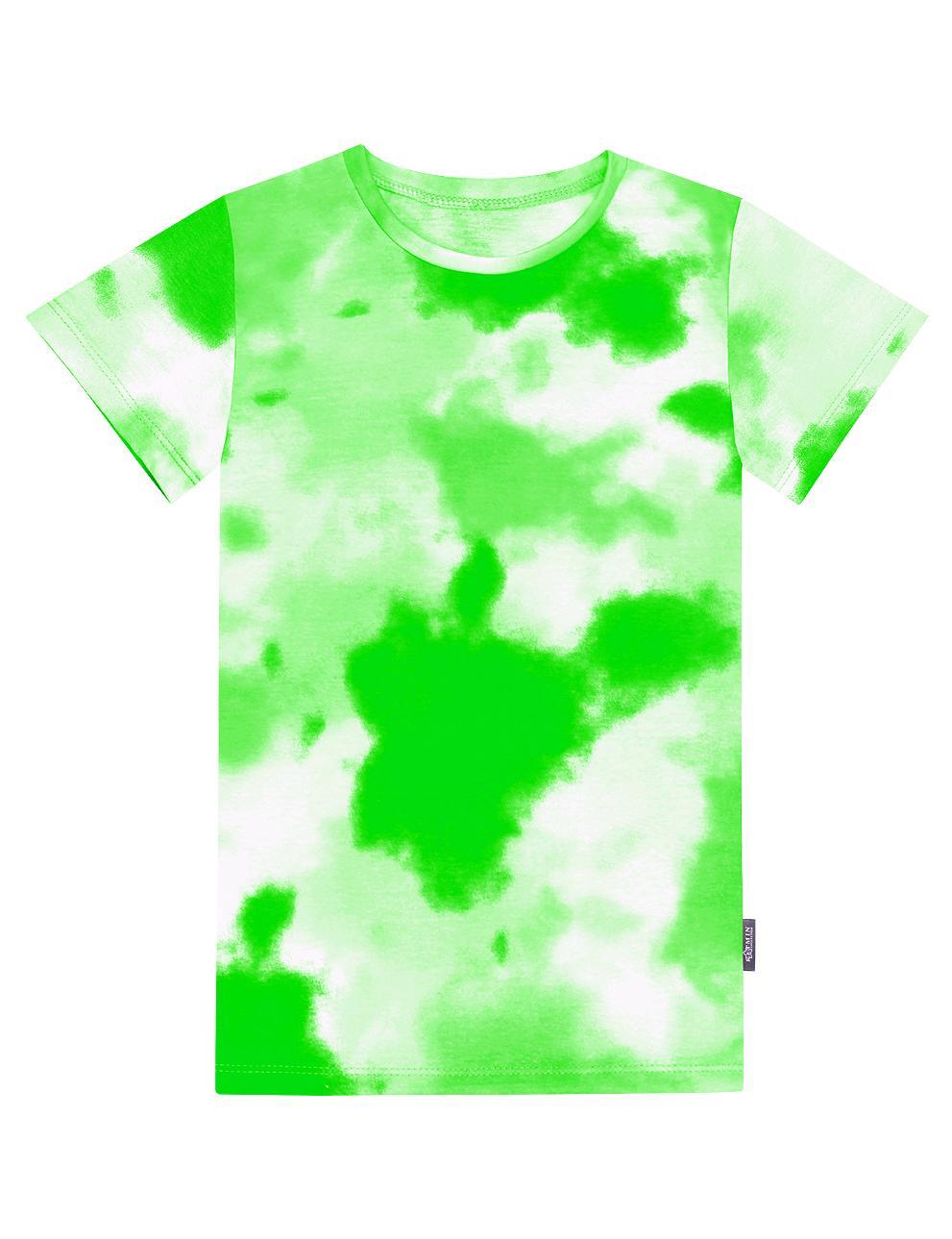 Детская футболка КЕТМИН цв.Тай Дай Салатовый