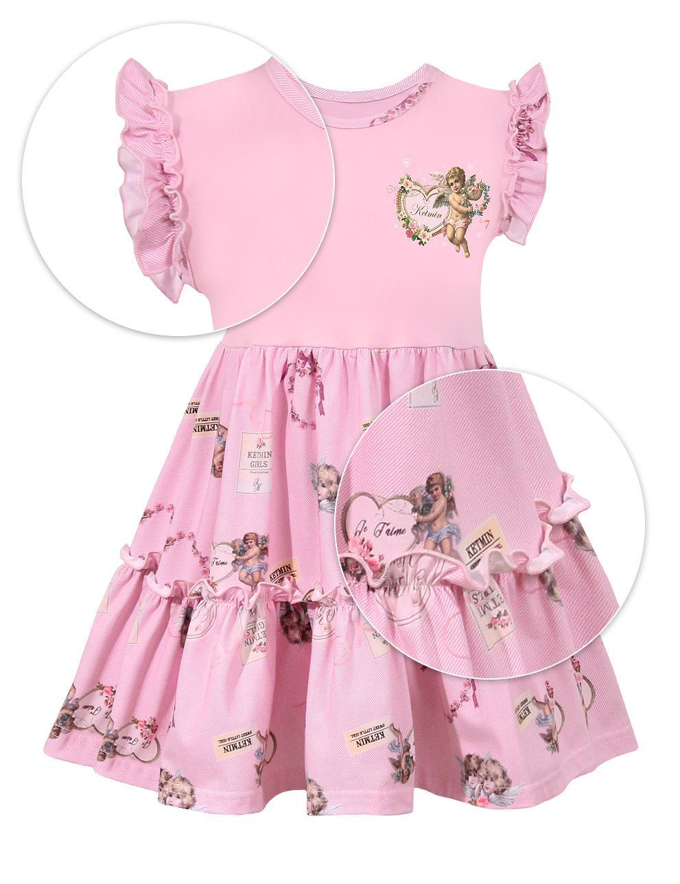 Платье для девочки KETMIN Angel ( 2 волана )