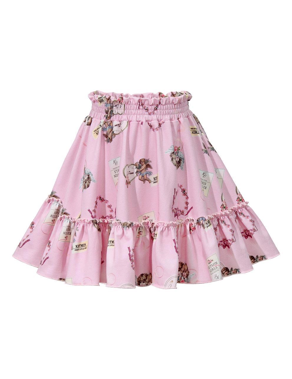 Костюм с юбочкой для девочки KETMIN Angel с оборочками