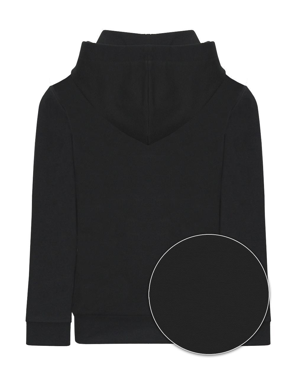 Толстовка детская с капюшоном KETMIN Collection цв.Чёрный