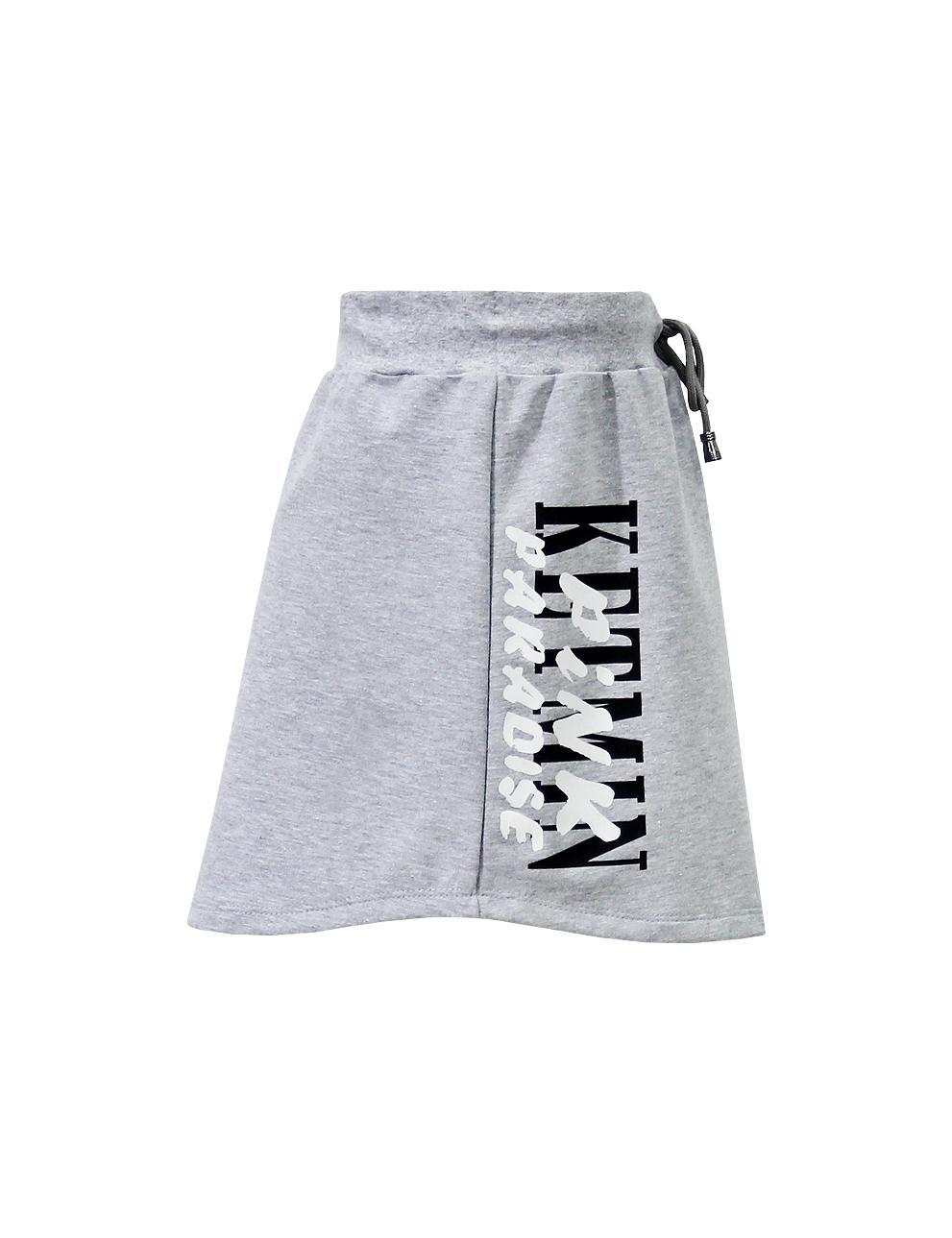 Детская юбка KETMIN PINK PARADISE цв.Серый меланж