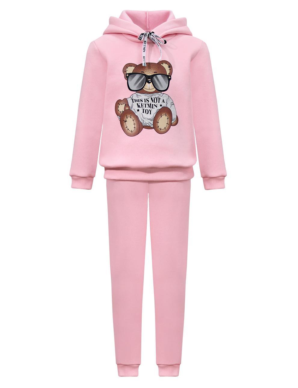 Детский костюм с начёсом This is not a toy KETMIN цв.Розовый