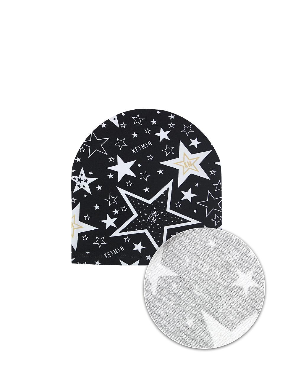 Шапка KETMIN STAR KM тк.Футер цв.Чёрный